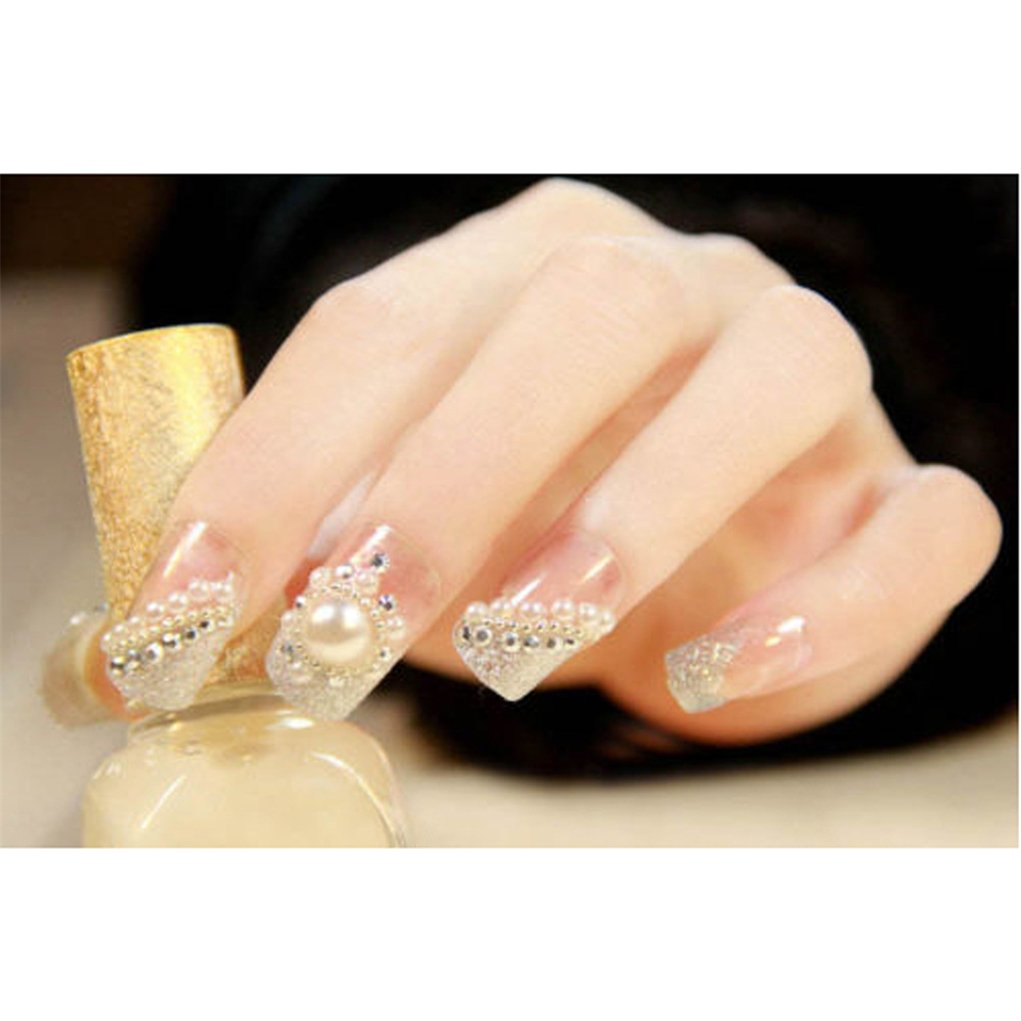 JasCherry Pedrería para Uñas Decoración de Arte de Uñas Rueda de Diamantes Brillantes: Amazon.es: Belleza