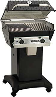 product image for Broilmaster R3b Infrared Combination Propane Gas Grill On Black Cart