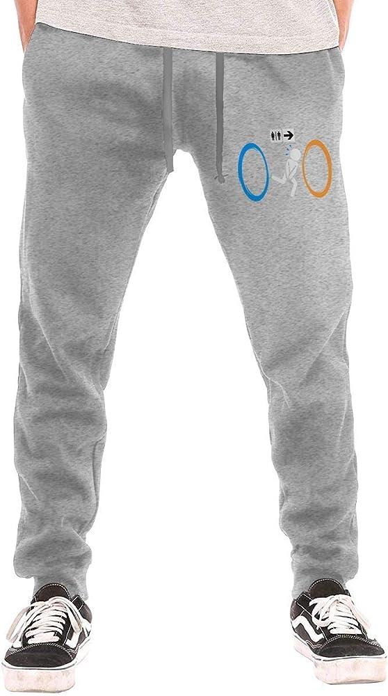 ishengx - Pantalones de chándal para Hombre, con Bolsillos Gris L ...