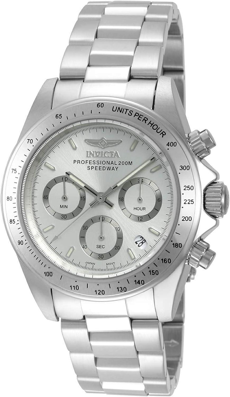 INVICTA Reloj Cronógrafo para Hombre de Cuarzo con Correa en Acero Inoxidable 14381