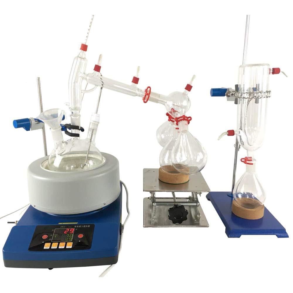 2L Short Path Distillation Lab Glassware Instrument