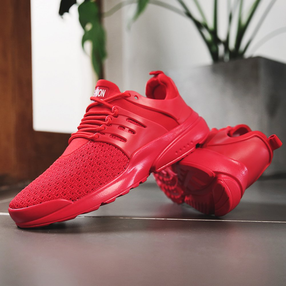 Senbore Herren Laufschuhe Atmungsaktiv Leichte Schuhe Anti-Rutsche Atmungsaktiv Laufschuhe Bequeme Turnschuhe a7c14f