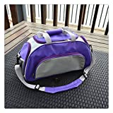 ISHOWStore Waterproof Gym Handbag Swimming Bags Beach Storage Hand Bag Organizer (Purple)