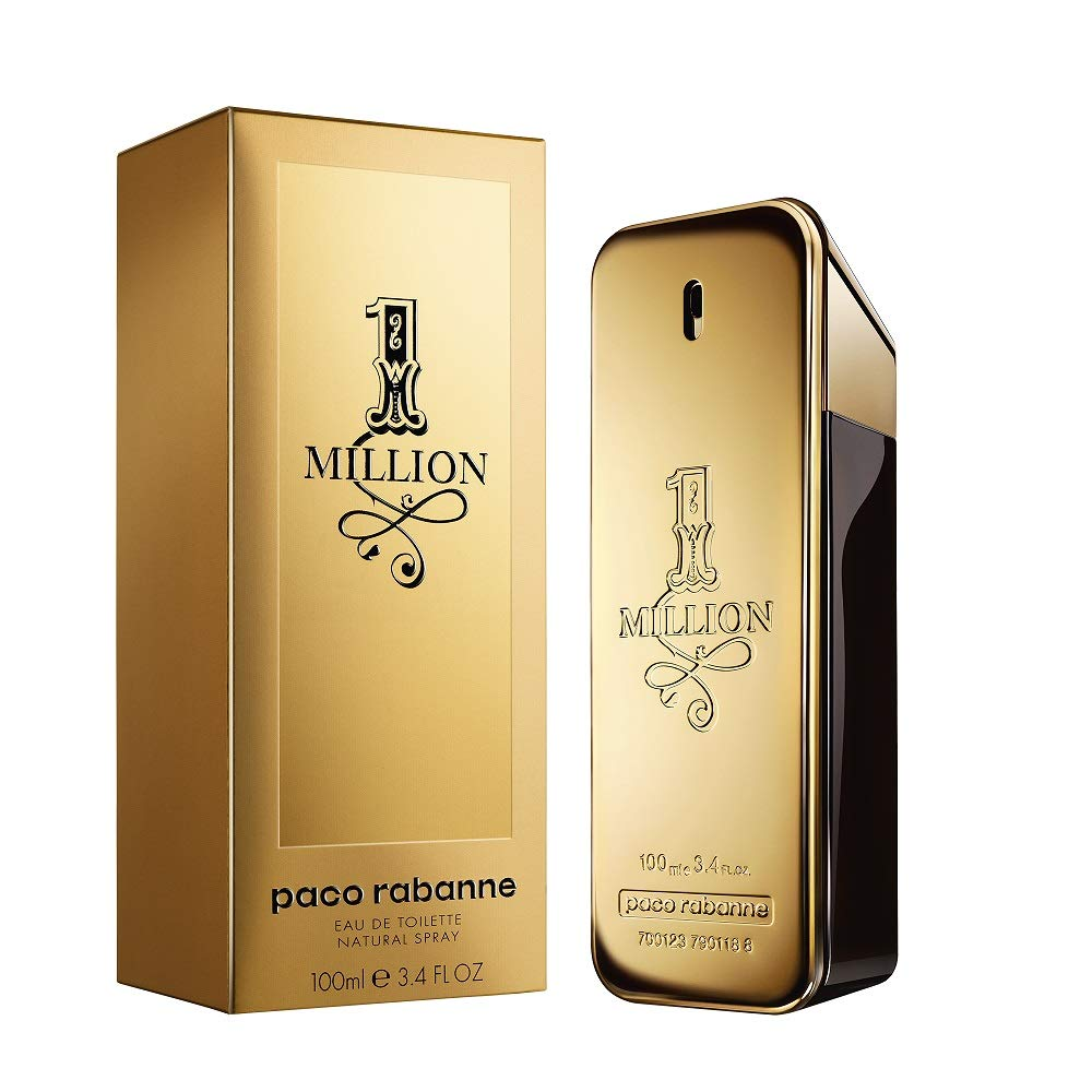 a23e163853 Amazon.com   Paco Rabanne 1 Million By Paco Rabanne For Men Edt Spray 3.4  Oz   Eau De Parfums   Beauty