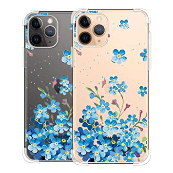 forget me not pattern iPhone 11 case