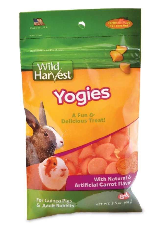 Wild Harvest Unique Treats for Guinea Pigs and Adult Rabbits 2.2-Ounce WH-83523 hamster chews; bird treats