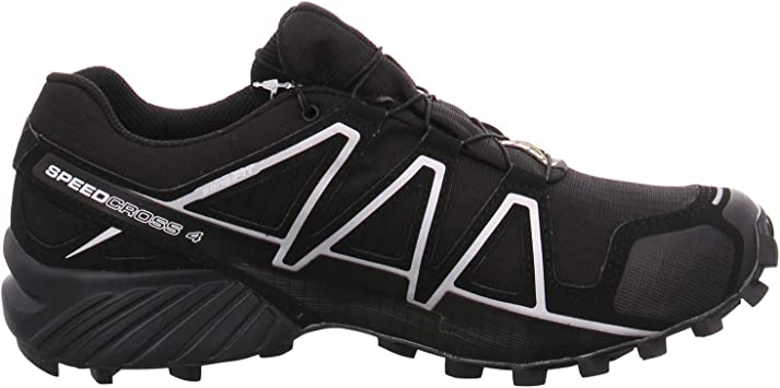 Salomon Speedcross 4 GTX Negro 383181: Amazon.es: Zapatos y complementos