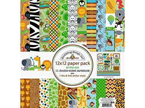 - DOODLEBUG DOO5681 AZ Paper Pack, 12x12