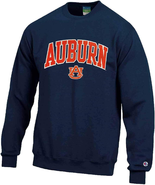 Champion Adult Tackle Twill Crewneck Officially Licensed Unisex NCAA Team Sweatshirt
