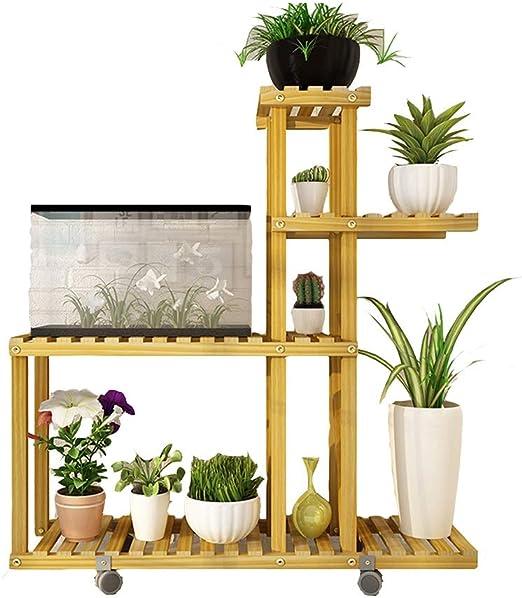 Soporte de Flores, Soporte de exhibición de Plantas Verdes con ...