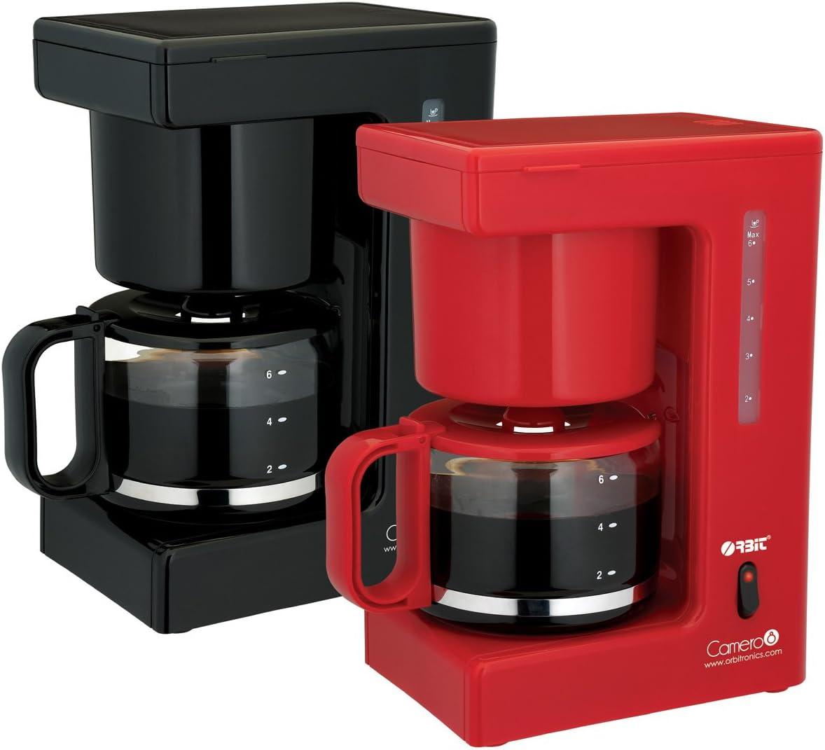 ORBIT Cafetera Eléctrica 680W Roja: Amazon.es: Hogar