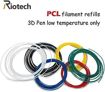 amazon com 3d pen pcl filament refills 1 75mm pcl