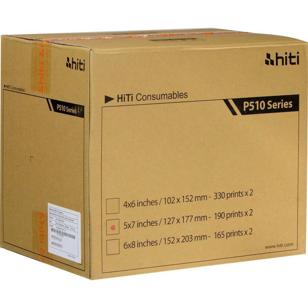 HiTi Print Kit Serie 510 13x18 cm 2x 190 stampe