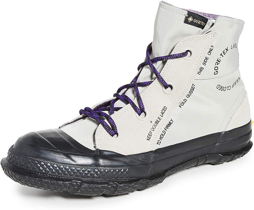 preocupación malla vía  Converse Chuck Taylor MC18 Gore-Tex - Botas deportivas para hombre, Marfil  (Corteza de abedul/Morado/Negro), 42 EU: Amazon.es: Zapatos y complementos