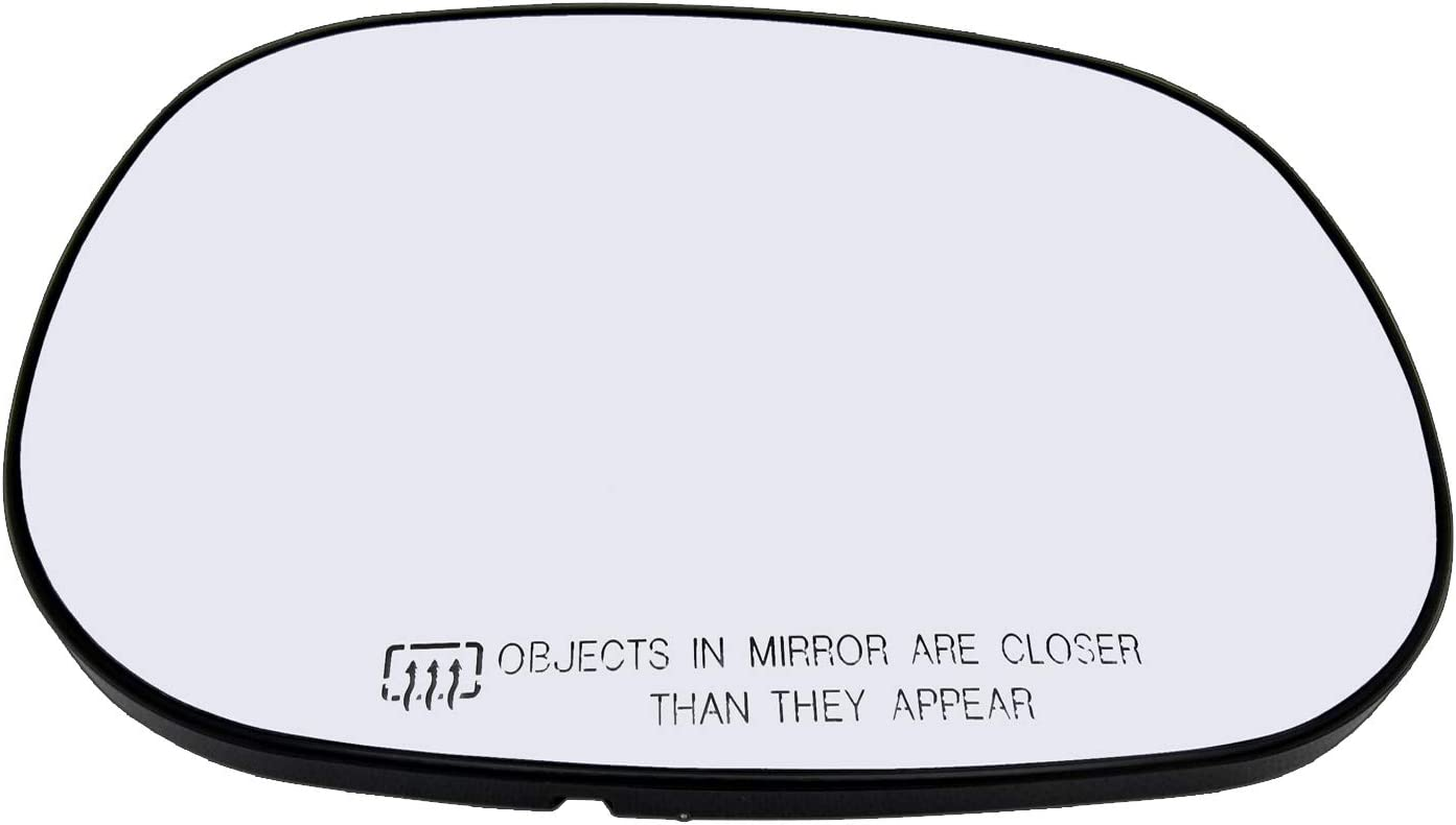 Door Mirror Glass Passenger Side Heated W//Backing Plate For Dakota Durango Ram