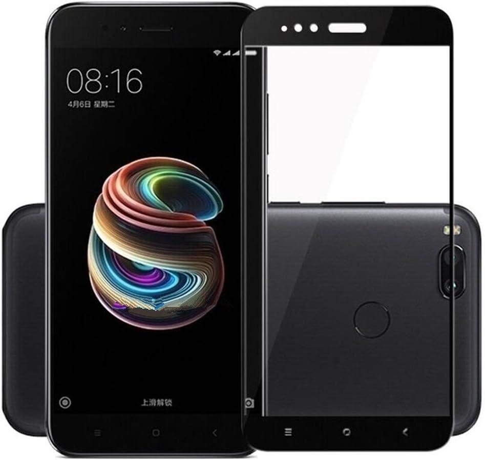 Electro-weideworld 2 Pack Xiaomi Mi A1/Xiaomi Mi 5X Protector de Pantalla, 3D Pro-Fit Pantalla Completa Cristal Templado Pantalla Protectora para Xiaomi Mi A1/Xiaomi Mi 5X,Negro: Amazon.es: Electrónica