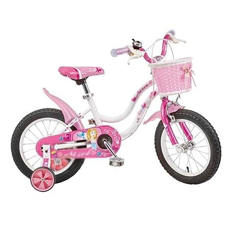 MDYMX Bicicleta para niños Bicicleta de niña Rosa Mermaid Girl ...