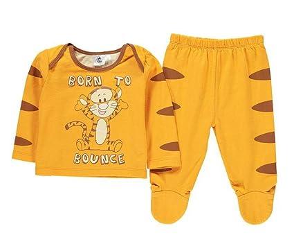 Disney charectors bebé Pelele una sola pieza Unisex niños niñas pijama PJ juegos de pijama para