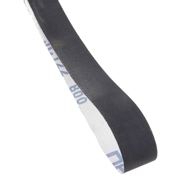 15pcs Oxyde daluminium Bandes abrasives 760 x 25 mm r/ésistant /à lusure Meule 600//800//1000 # chaque taille 5pcs