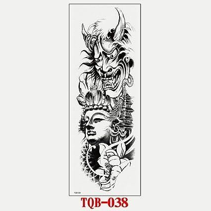 Pegatinas de tatuaje de brazo completo tatuaje impermeable arte ...