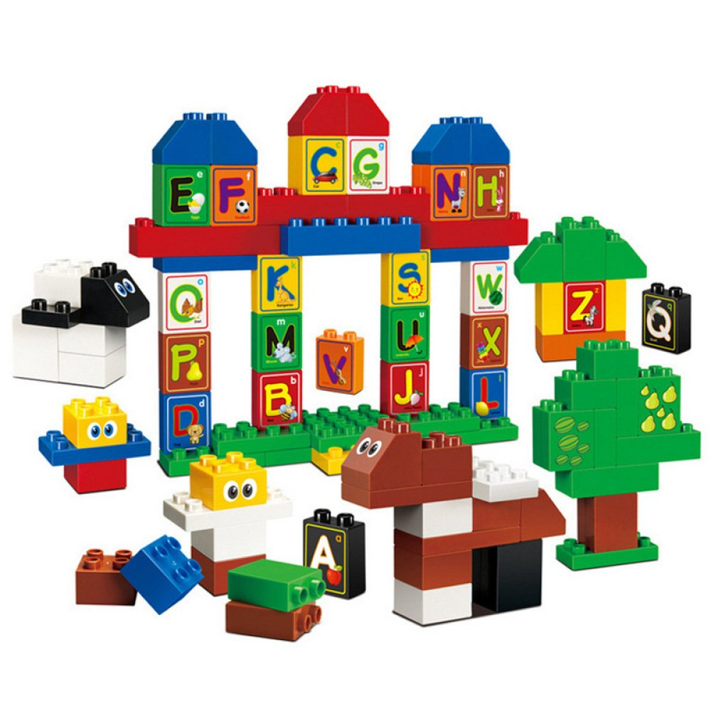 Puzzle-Bausteine Spielzeug Der Kinder Kreativer Alphabetpark Pädagogisches Spielzeug des Spaßes