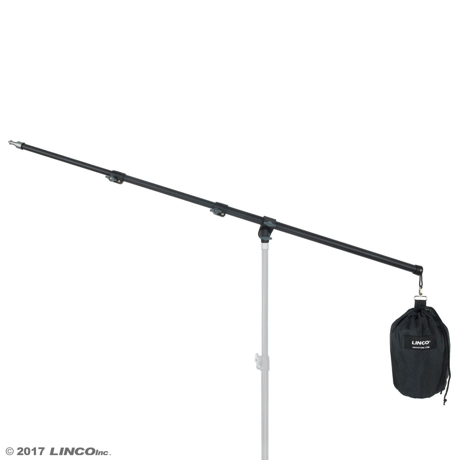 LINCO Lincostore Zenith Photography Boom Arm 83'' / 210cm with Sandbag, AM224 (Not Including Stand)