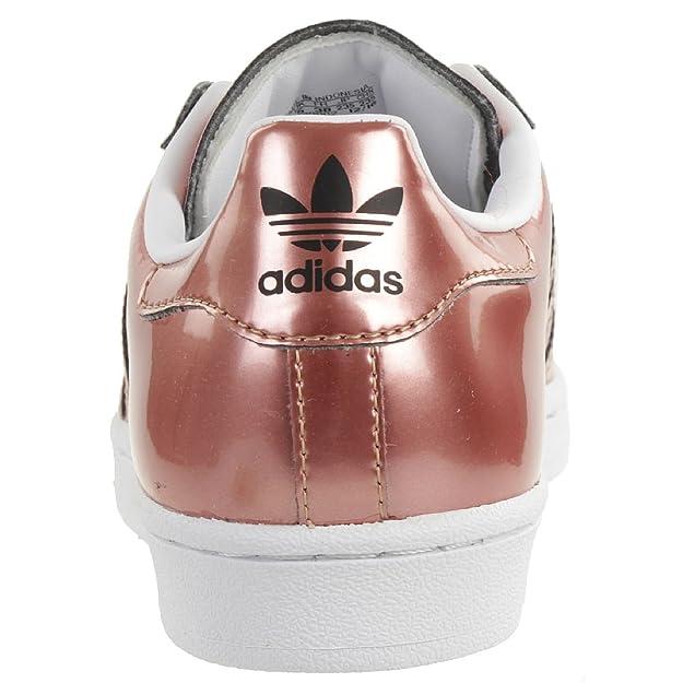 ADIDAS SUPERSTAR W Damen Sommersneaker Schuhe Metallic Kupfer CG3680