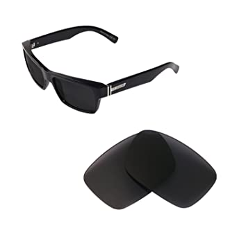 9b56783440ba7 Walleva Replacement Lenses for VonZipper Fulton Sunglasses - Multiple  Options Available (Black - Polarized)