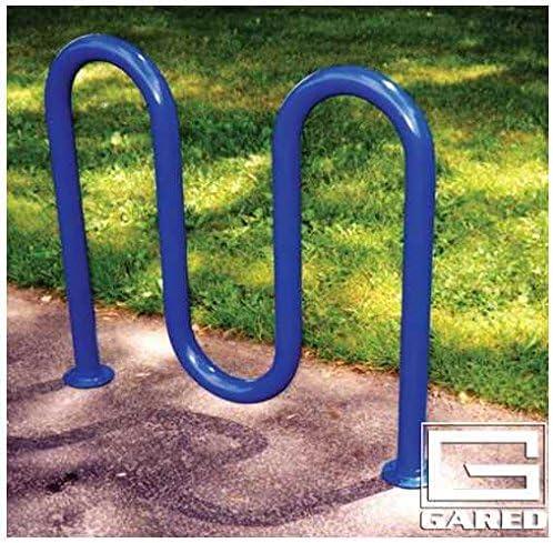 """3' 3"""" loop-styleパウダーコーティングバイクラック( Holds 5Bikes )"""