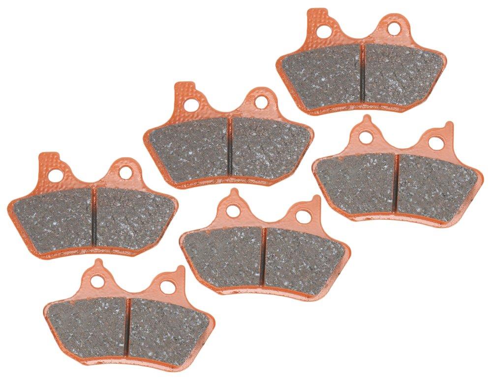 1. EBC Brakes EBPCK1029 Complete Semi-Sintered V-Pads Brake Pad Change Kit