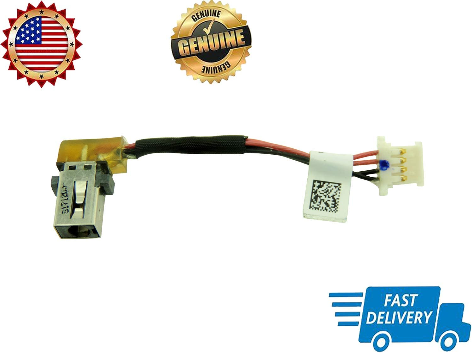 Genuine New DC in Power Jack Cable Harness Plug in Socket Connector for ACER 1417-00G1000 SU4EA