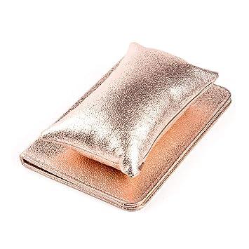 Almohada de piel sintética con reposamuñecas y soporte para ...
