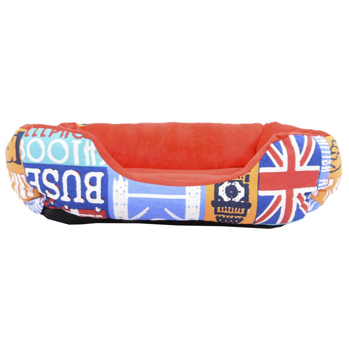 Cama para perro y gato LONDON COLORES 55*45cm.: Amazon.es: Hogar