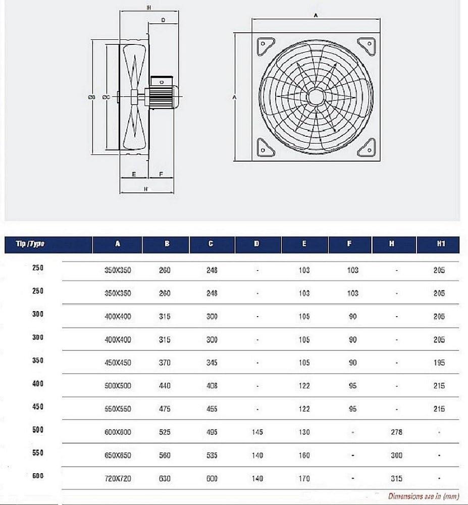 300mm Ventilador industrial Ventilaci/ón Extractor Ventiladores ventiladore industriales Axial axiales extractores aspiracion mura pared ventana extractores Helicoidal Helicoidales Extraccion