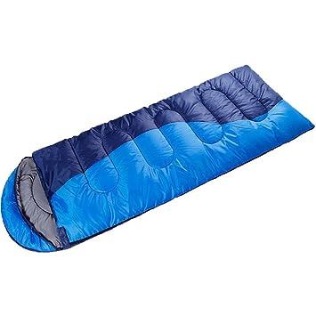ZXQZ Saco de Dormir Hombres y Mujeres Al Aire Libre Montañismo Saco de Dormir de Camping Bolsa de Dormir Doble Saco de Dormir Saco de Dormir Momia: ...
