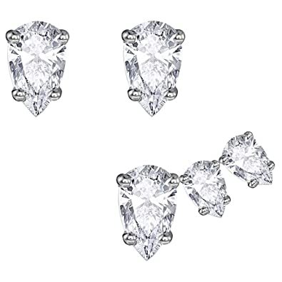 be84648f8928f8 Swarovski Attract Pear Pierced Earring Set