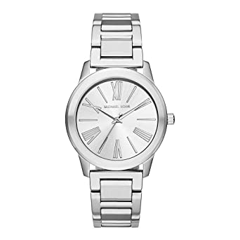 64269fd5425e Image Unavailable. Image not available for. Color  Michael Kors Women s  Hartman Stainless Watch MK3489