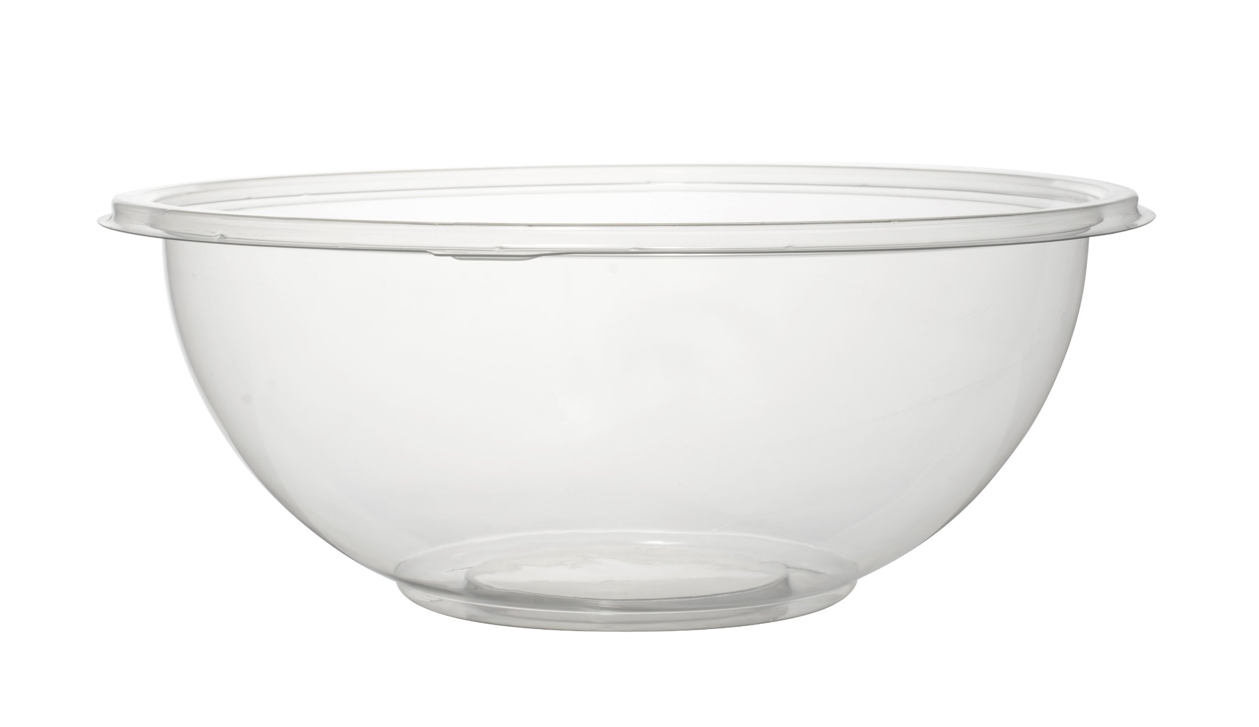 Fineline 24 oz Salad Bowl (Case of 25), Clear