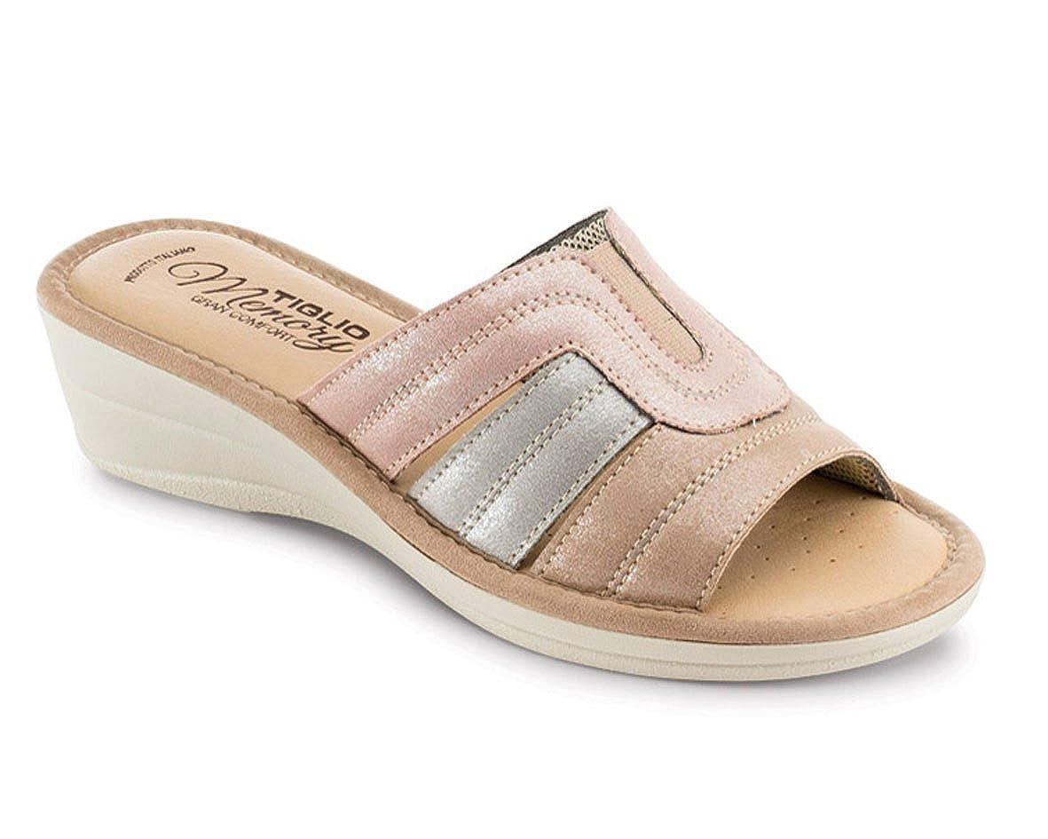 tiglio Pantofole Donna 2673MF Beige -