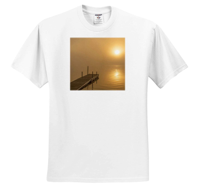 Walker USA ts/_314887 Lakes Minnesota Leech Lake at Sunrise 3dRose Danita Delimont - Adult T-Shirt XL