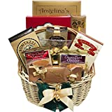 Sweet Sensations Cookie, Candy and Treats Gift Basket SMALL (Chocolate Option)