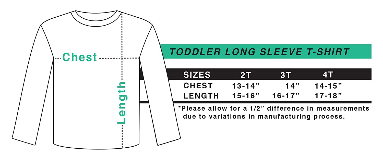 inktastic Pre-K Crew Toddler Long Sleeve T-Shirt