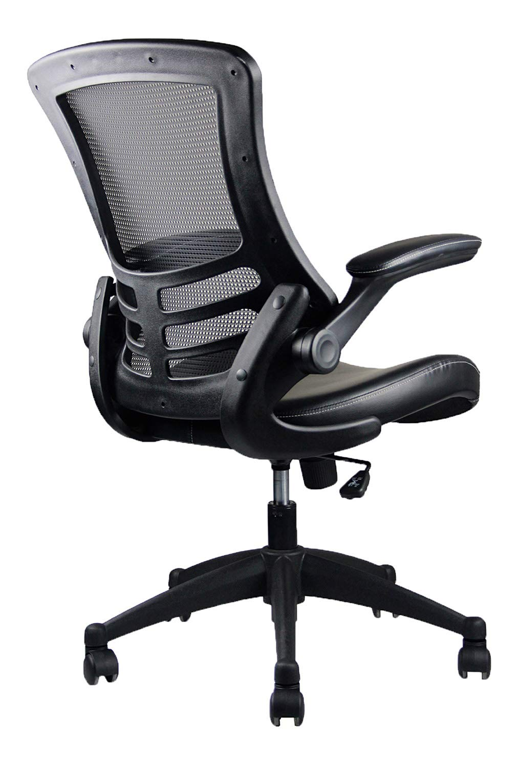 Tremendous Stylish Mid Back Mesh Office Chair With Adjustable Arms Color Black Home Interior And Landscaping Transignezvosmurscom