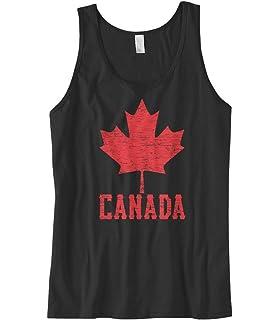 2d6f9286724415 Amazon.com  Canadian Maple Leaf - Canada Pride Men s Tank Top  Clothing