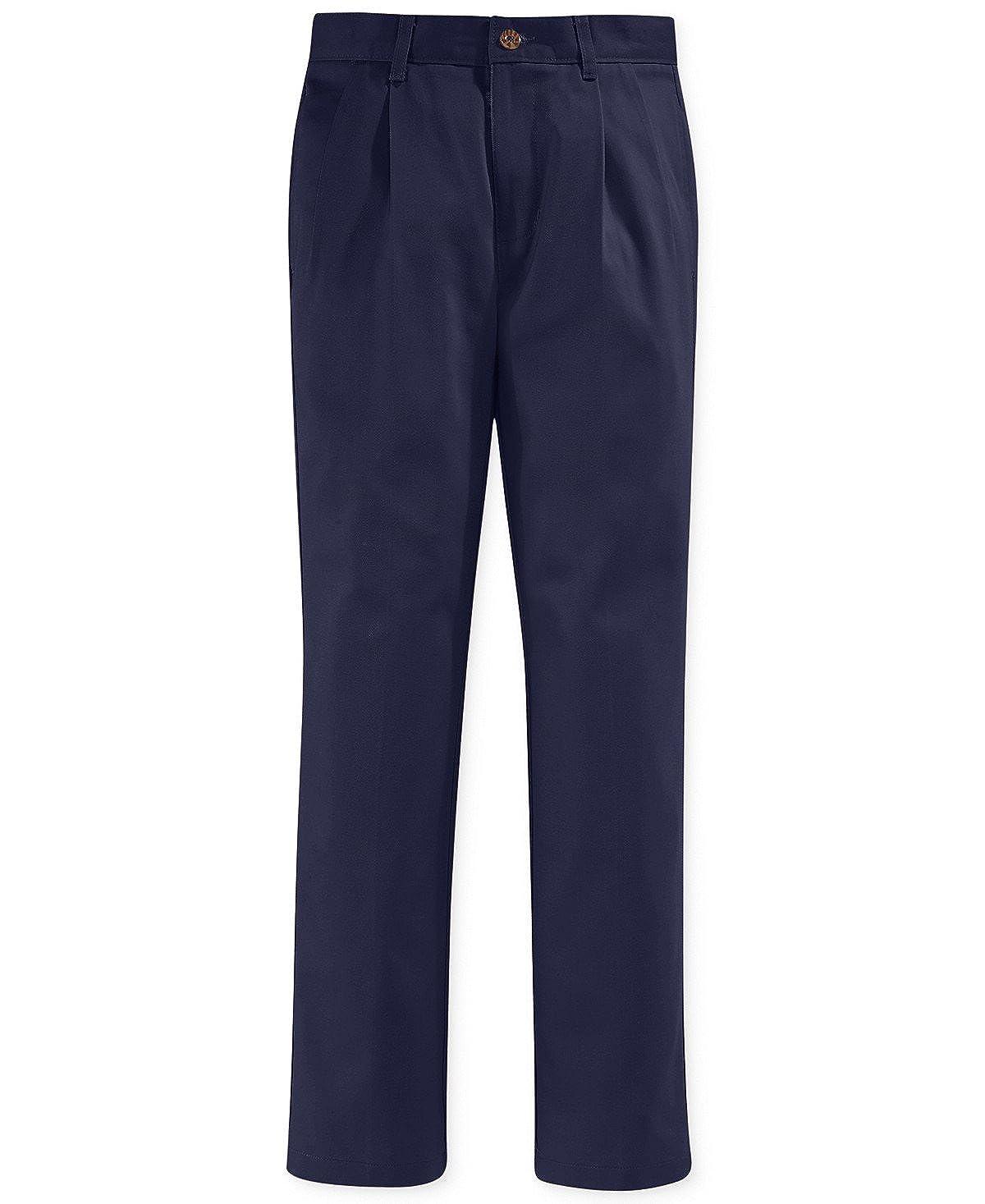 Big Boys Nautica Pleated School Uniform Pants