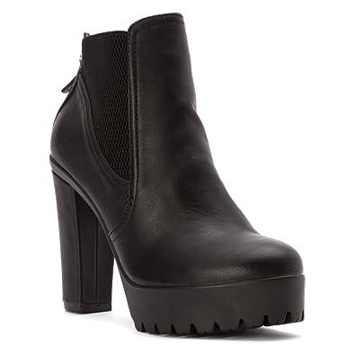 Black Carlos By Carlos Santana Womens Boots Queeny