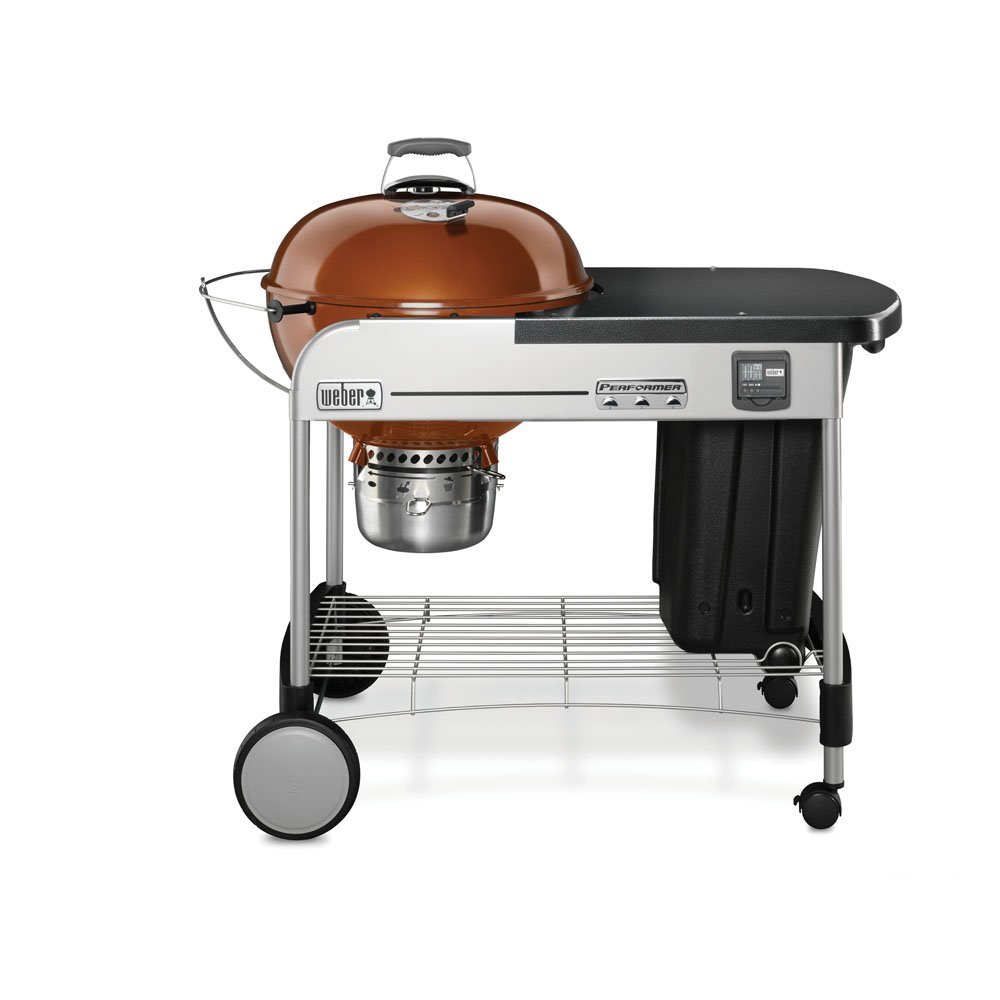"""Weber Performer Premium 22"""" Charcoal Grill, Copper Weber-Stephen Products LLC 15402001"""