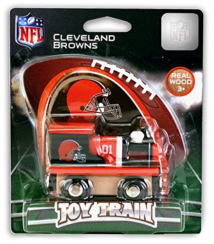 MasterPieces NFL Cleveland Browns Toy Train