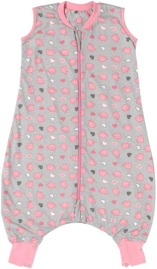 Slumbersac Summer Baby Sleeping Bag with Feet and Poppers 0.5 Tog 12-18 months//70cm Safari