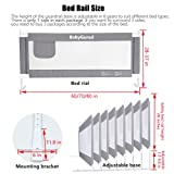 BabyGuard Bed Rails for Toddlers - Extra Long and